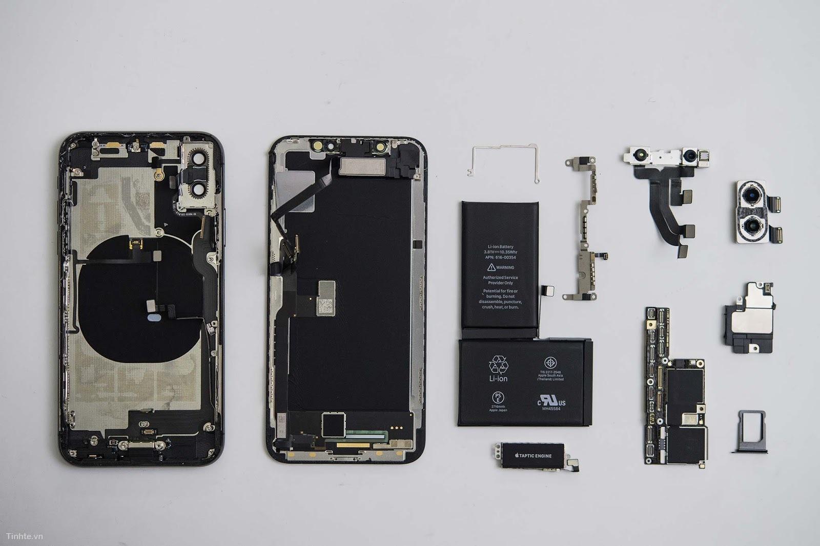 Thay pin điện thoại iPhone X