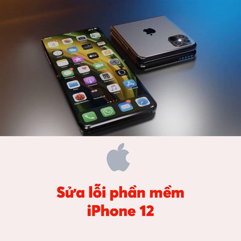 Sửa lỗi phần mềm iPhone 12