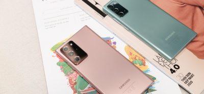 Thiết kế điện thoại Samsung Galaxy Note 20 và 20 Ultra
