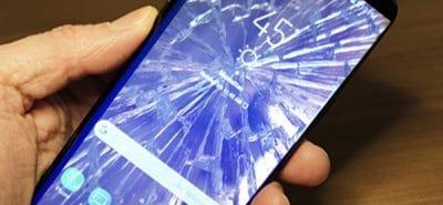 Samsung Galaxy S9 Plus vỡ màn hình