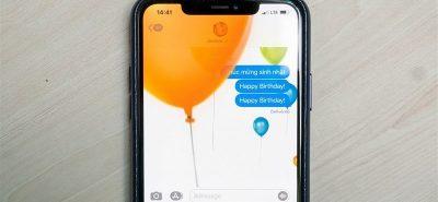 Hiệu ứng nhắn tin khi sử dụng iMessage