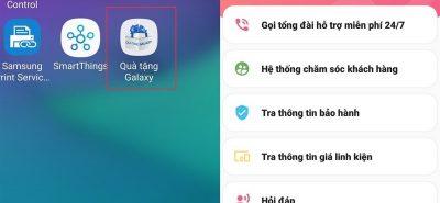 Kiểm tra bảo hành điện thoại Samsung