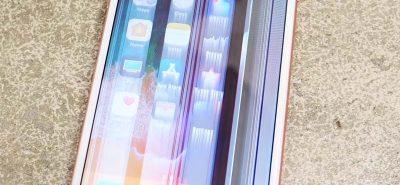 Màn hình iPhone 7 Plus sọc ngang dọc