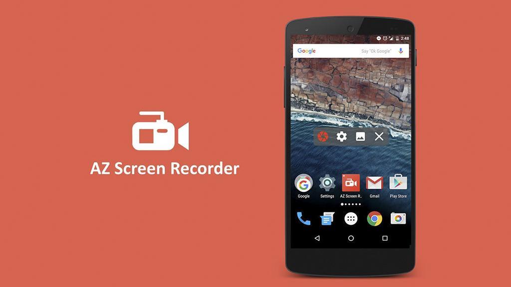 AZ Screen Recorder là ứng dụng quay màn hình Samsung chất lượng