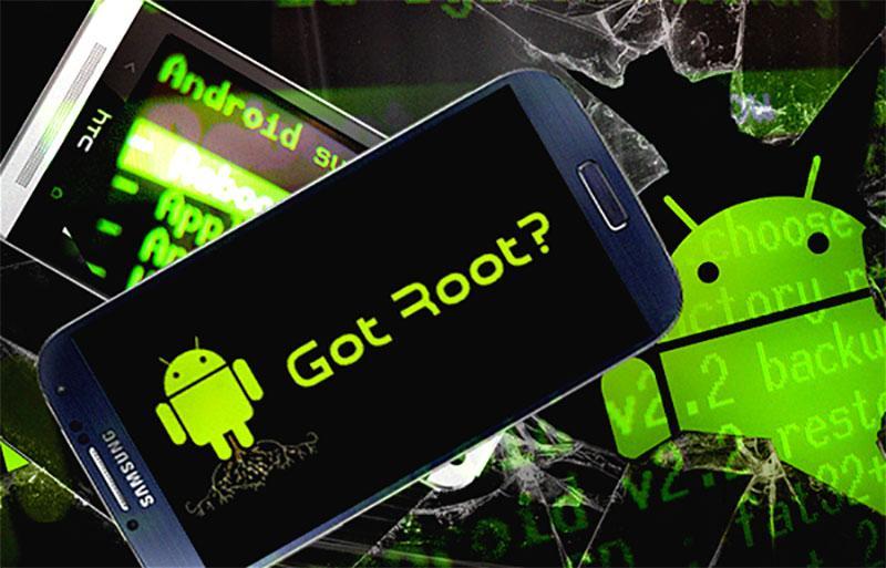 Có thể root điện thoại cập nhật hệ điều hành Android